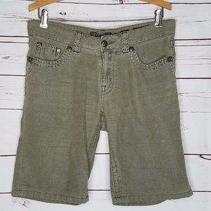 Miss Me Cargo Boyfriend Bermuda shorts
